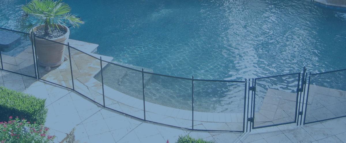 Pool Fence Background
