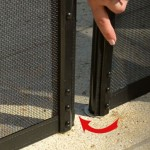 Lock-in-Deck Safety Fence