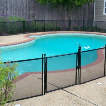 pool pet fence