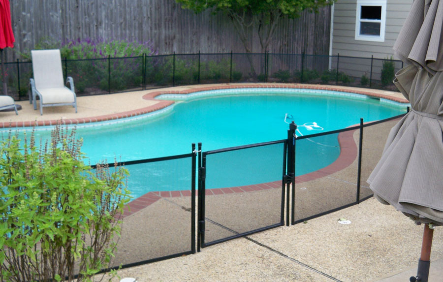 Removable Pet Fence For The Pool Amp More Protect A Child