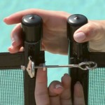 Pool Fence Safety Latch