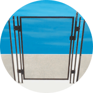 Pool Safety Fence Gate