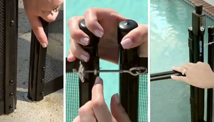 Pool Fence Safety Features