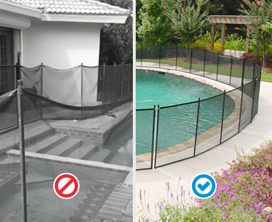 Pool Fence Quality Comparison