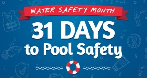 Pool Safety Tips Infographic