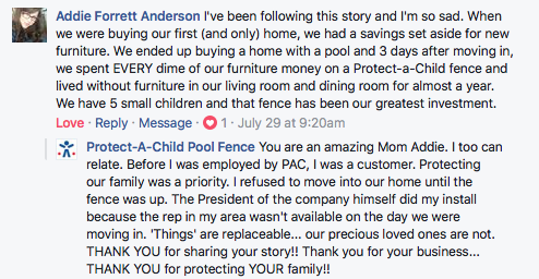 Protect-A-Child Customer Story