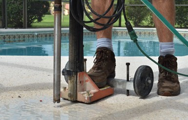 Pool Fence Drill