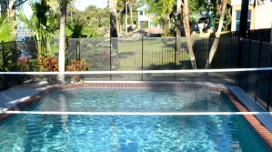 Pool Fence Volleyball Net