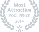 most attractive pool fence 2014