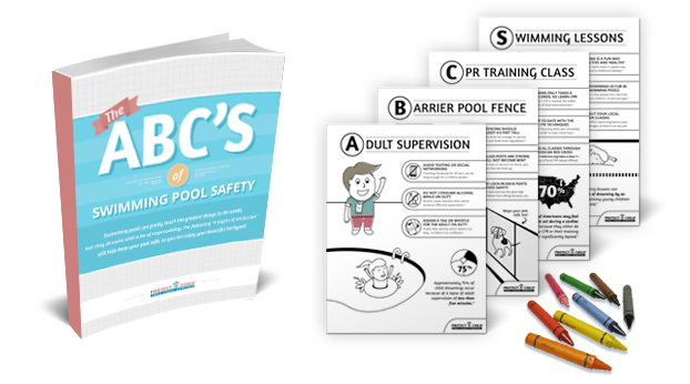 Pool Safety Coloring Book