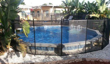 Black Pool Fence Tampa