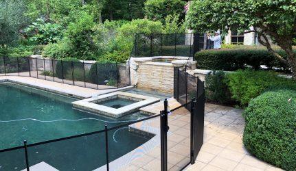 pool fence mesh