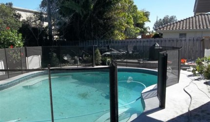 Manual Gate on Pool Fence