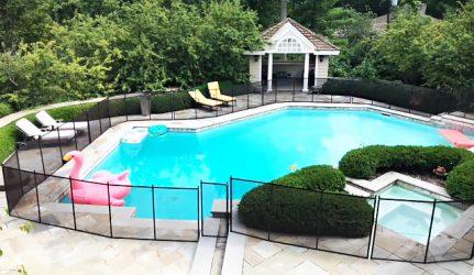 Pool Fence Around Pool