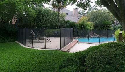 Pool Fence Houston Texas