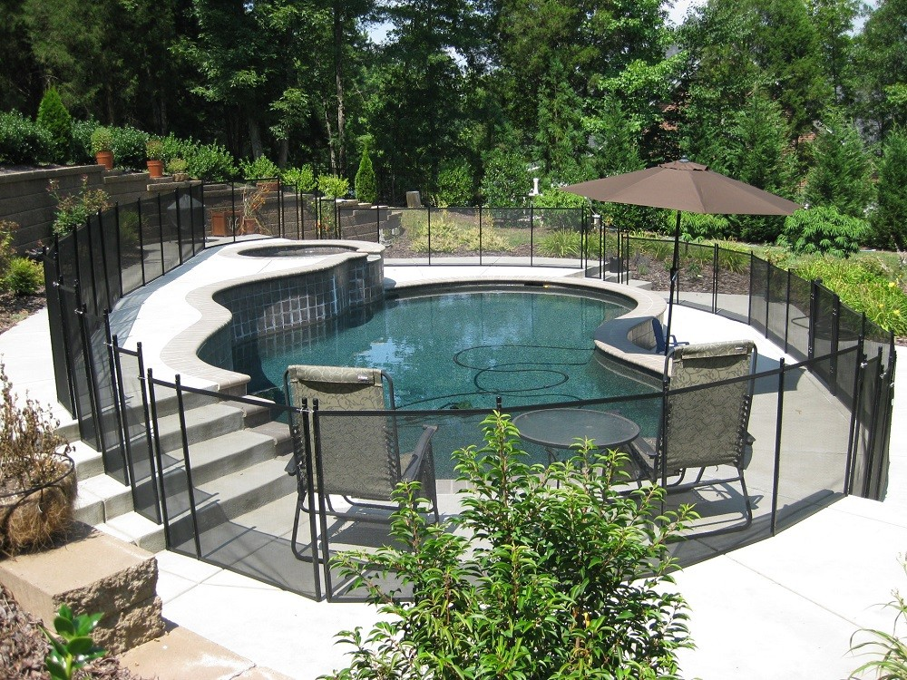 Atlanta pool fence installer protect a child for Pool dealers
