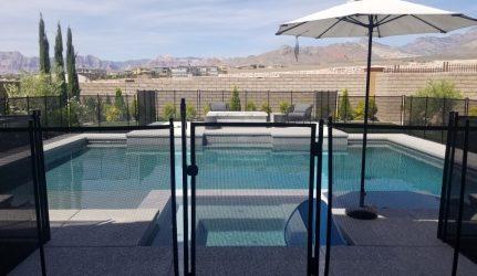 Las Vegas Pool Fence Gate