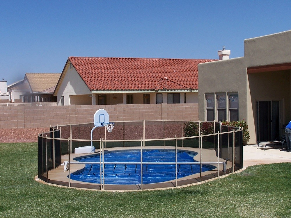Tucson arizona pool fence installer protect a child for Swimming pool dealers