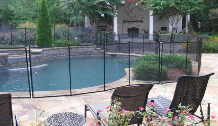 Swimming Pool Spa Fence