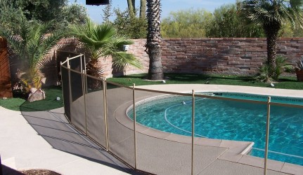 Tan_Post_and_Mesh_Pool Fence_AZTUCS