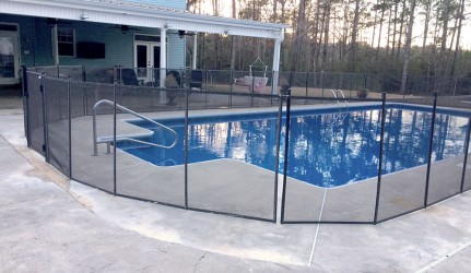 Pool Fence in Amite