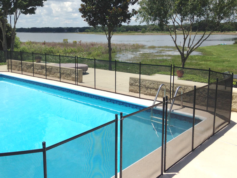 Ocala pool fence installer protect a child for Pool dealers