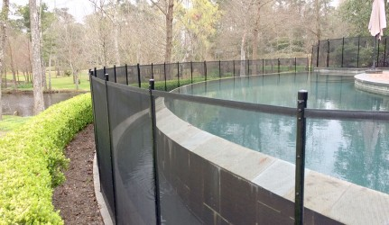 Infinity Edge Pool Fence