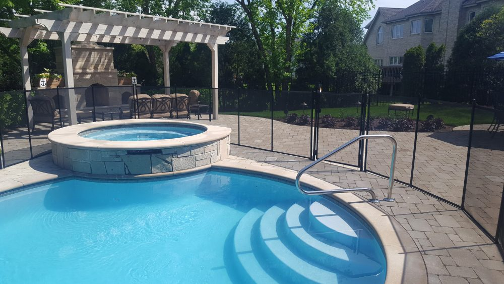 Chicago pool fence installer protect a child for Pool dealers