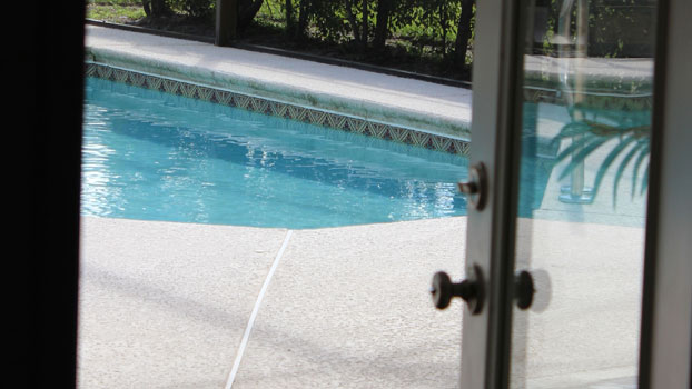 Unprotected Swimming Pool