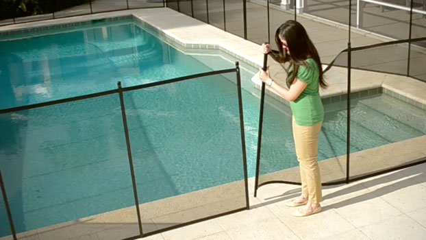 Reinstalling My Pool Safety Fence Is A Breeze Protect A