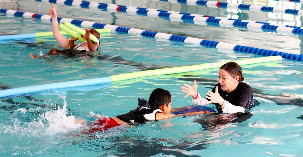 swimming lesson public schools