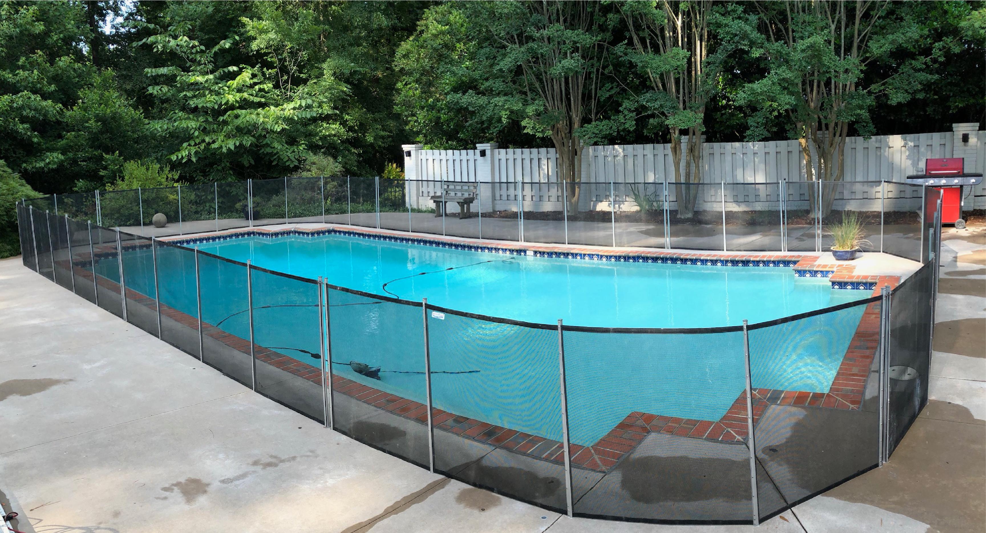Pool Fence Vintage